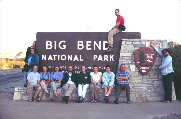 2001 unc phytogeographical excursion for Big bend motor inn